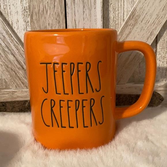 Rae Dunn Jeepers Creepers Mug